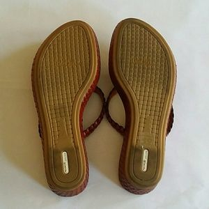 Cole Haan Shoes - Cole Haan Nike Air Braided Wedge Sandals, Sz 6.5B